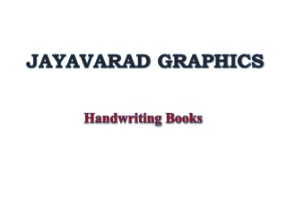 Handwriting-Books-Supplier