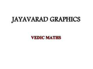 Vedic-Maths-Training