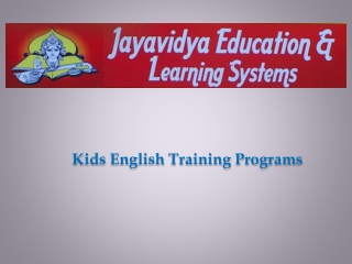 Kids-English-Training