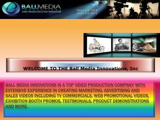 Ball Media video production company