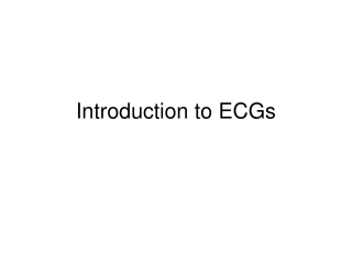 introduction to ecgs