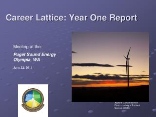 Career Lattice: Year One Report