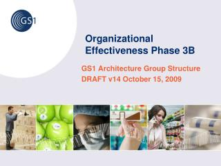 Organizational Effectiveness Phase 3B