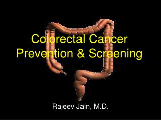 Colorectal Cancer Prevention  Screening