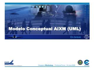 Modelo Conceptual AIXM UML