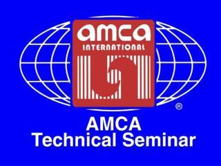 AMCA International Technical Seminar 2009