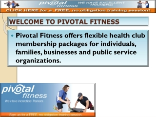 Pivotal Fitness