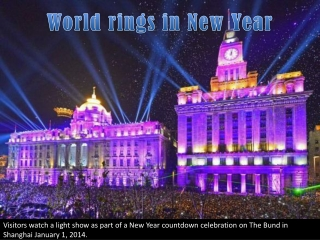 World rings in New Year
