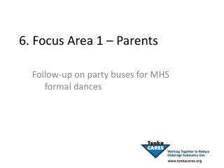 6. Focus Area 1   Parents