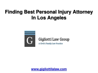 Finding Best Personal Injury Attorney in Los Angeles