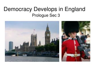 Democracy Develops in England