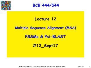 BCB 444