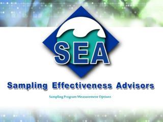 Sampling Program Measurement Options