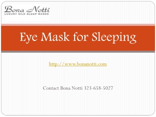 Comfortable Sleeping Eye Mask Shop