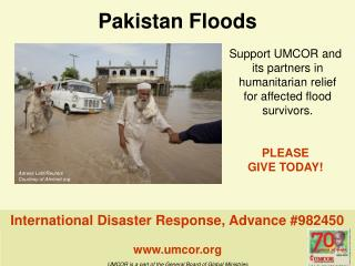 Pakistan Floods umcor