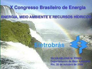 SILVIA HELENA M. PIRES Departamento de Meio Ambiente Rio, 28 de outubro de 2004
