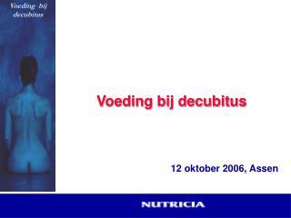 Voeding bij decubitus