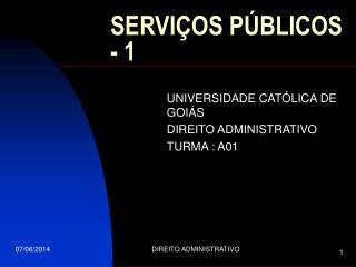 SERVI OS P BLICOS - 1