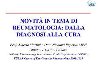 novit  in tema di reumatologia: dalla diagnosi alla cura