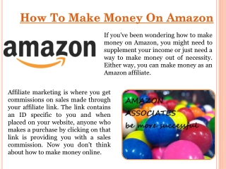 How To Earn Money For Amazon