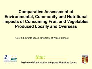 Comparative Assessment of Environmental, Community and Nutritional Impacts of Consuming Fruit and Vegetables Produced Lo