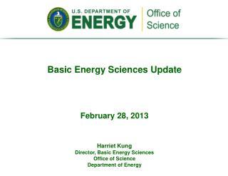 Basic Energy Sciences Update