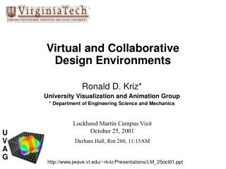 Virtual and Collaborative  Design Environments
