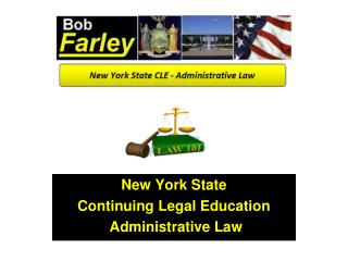 New York State Continuing Legal Education  Administrative Law