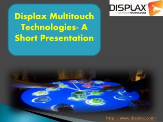 Get Excellent Accuracy and Response by Using the Multi Touch