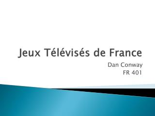 Jeux T l vis s de France