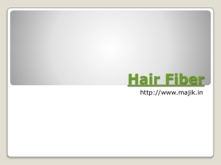 Order Hair fiber Online in India