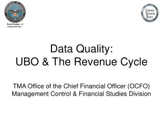 Data Quality: UBO  The Revenue Cycle