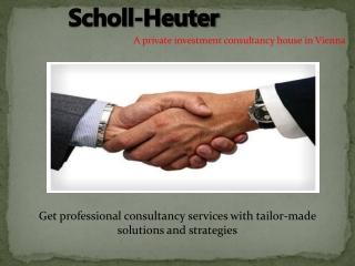 Scholl heuter infrastructure asset management