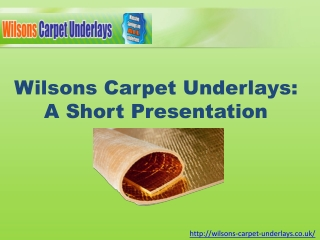 Get Tension Free Flooring for Years with Carpet Underlay