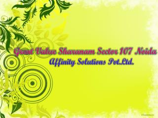buy sharanam great value property | affinityconsultant.com |