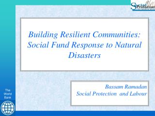 Presentation by Bassam Ramadan - Social Protection and Labor ...