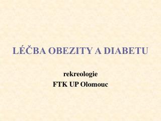 L CBA OBEZITY A DIABETU