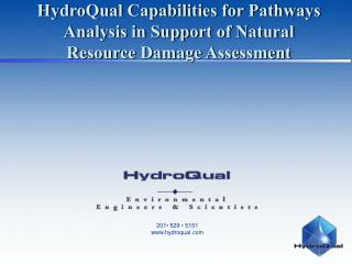 HydroQual Capabilities for Pathways Analysis in Support of Natural Resource Damage Assessment