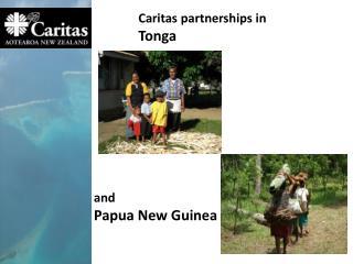 Caritas partnerships in Tonga