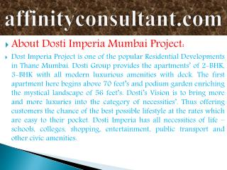 dosti group thane property/properties at mumbai dosti imperi