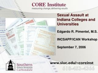 Sexual Assault at Indiana Colleges and Universities