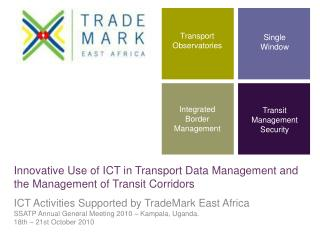 Innovative Use of ICT in Transport Data Management and the Management of Transit Corridors