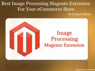 Best Image Processing Magento Extension For Your eCommerce S