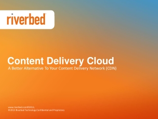 Content Delivery Cloud