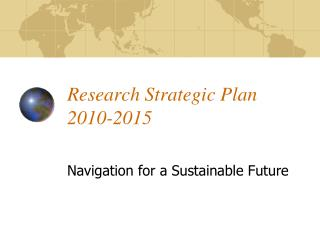 Research Strategic Plan 2010-2015