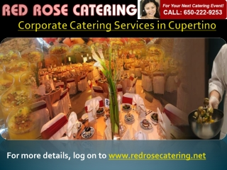 Corporate Catering Services Cupertino