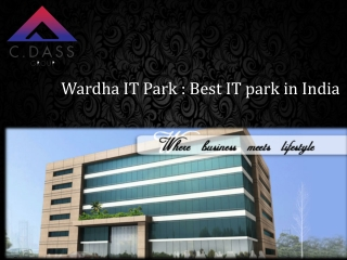 IT Real Estate in india | Best IT Park in India