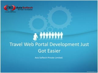 Travel Web Portal Development Just Got Easier