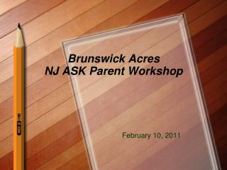 brunswick acres nj ask parent workshop