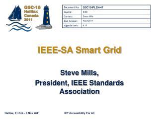IEEE-SA Smart Grid